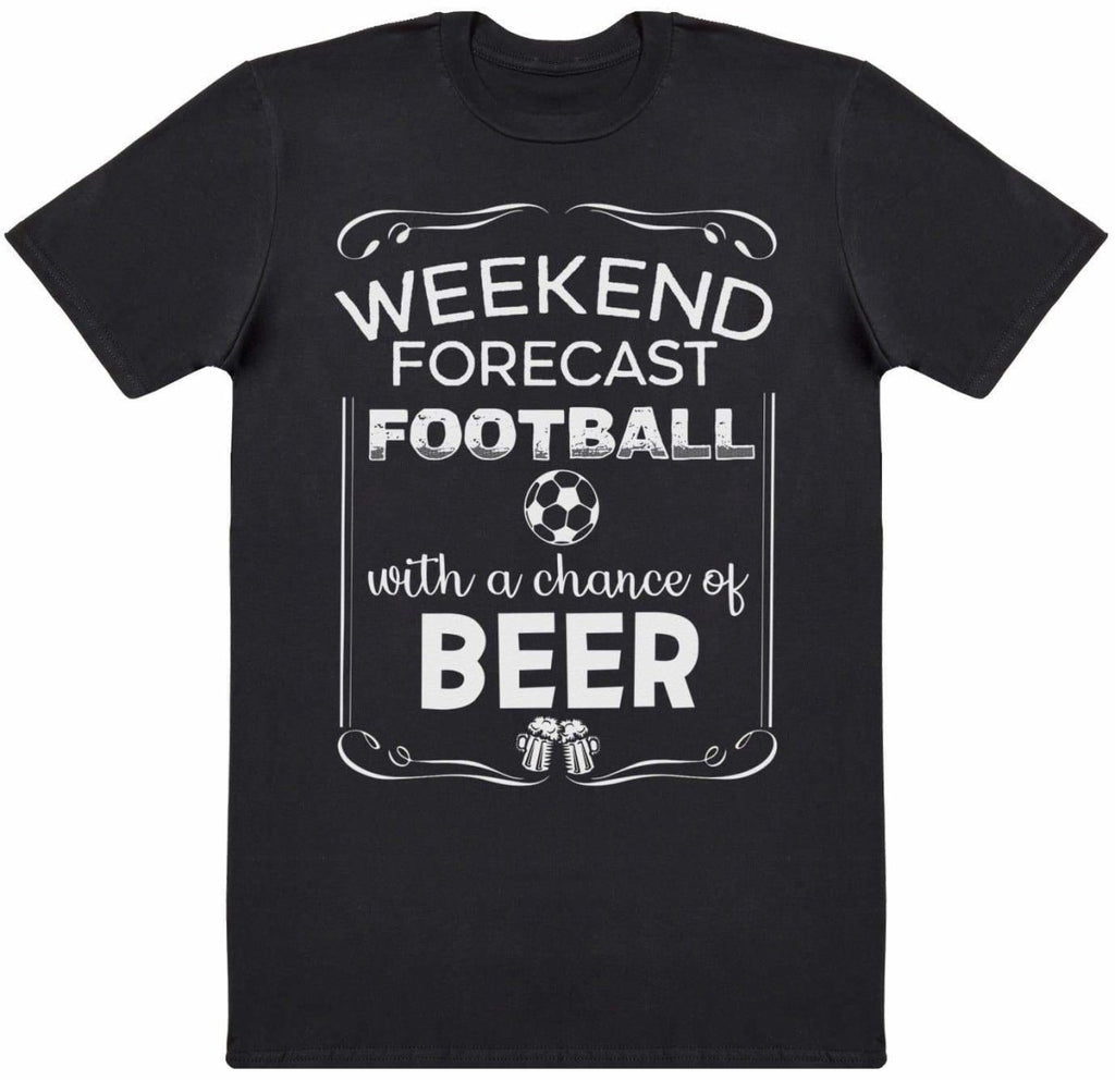 Weekend Forecast Football Beer - Mens T-Shirt - The Gift Project