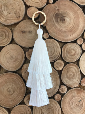 SAMPLE SALE - TASSEL IVORY SMALL