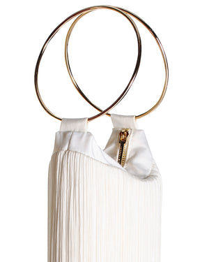 LOLA BAG GOLD HANDLES - IVORY