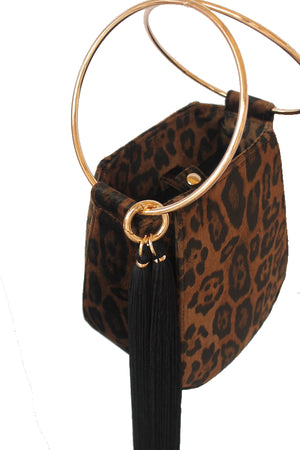 PRE-ORDER: ALEXIS BAG - BROWN LEOPARD