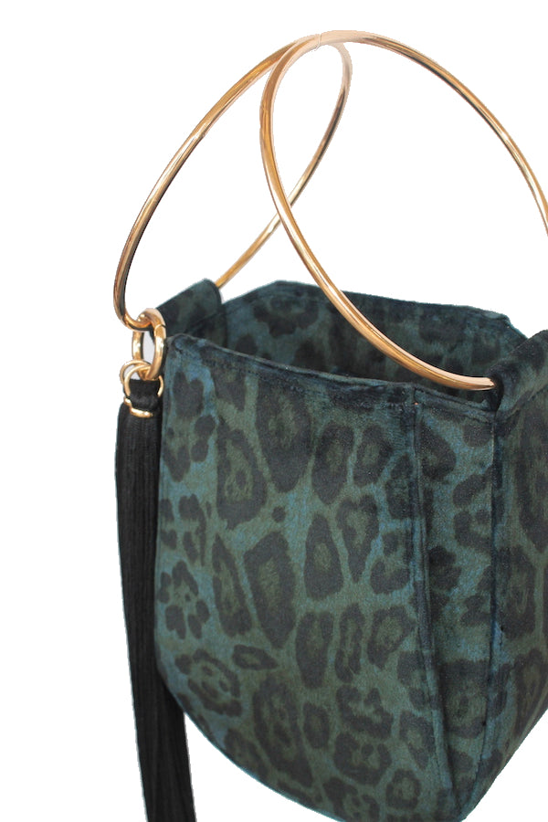ALEXIS BAG - PEACOCK LEOPARD