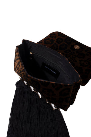 ELLIS BAG - BROWN LEOPARD