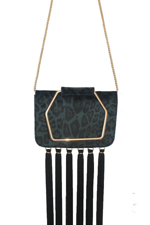ELLIS BAG - PEACOCK LEOPARD