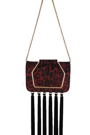 ELLIS BAG - RUBY LEOPARD