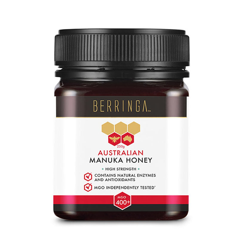 Berringa - Manuka Honey MGO400+ Antibacterial | Digestive Health (250g)