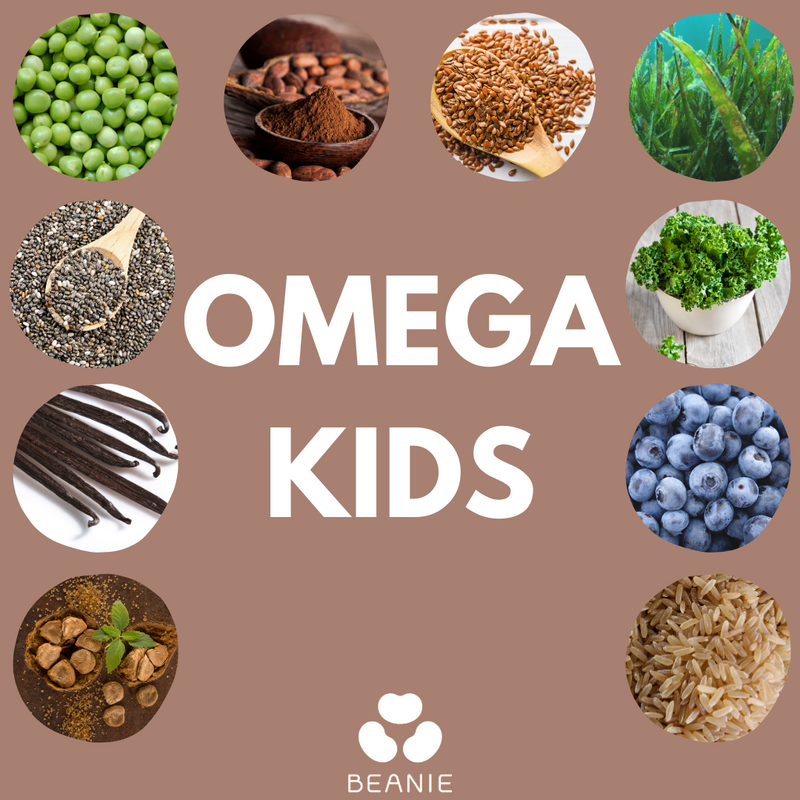 Australian Omega Kids Powder - 15 Superfood Blends (240g)