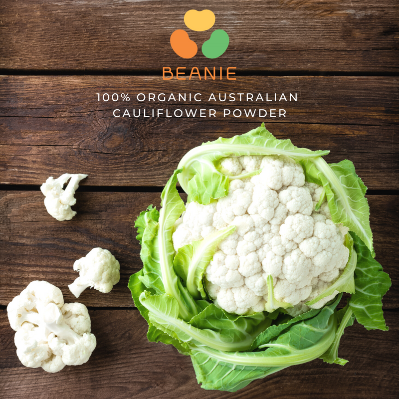 100% Organic Australian Cauliflower Powder (30 days)