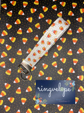 Load image into Gallery viewer, Mini Candy Corn Keystrap
