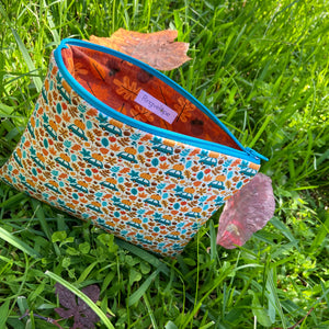 Autumn Trip Zip Pouch