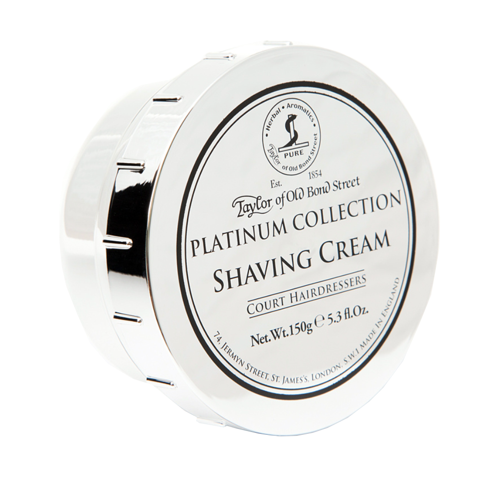 Platinum Collection Shaving Cream Bowl 150g / 5.3oz - BUYBARBER.COM
