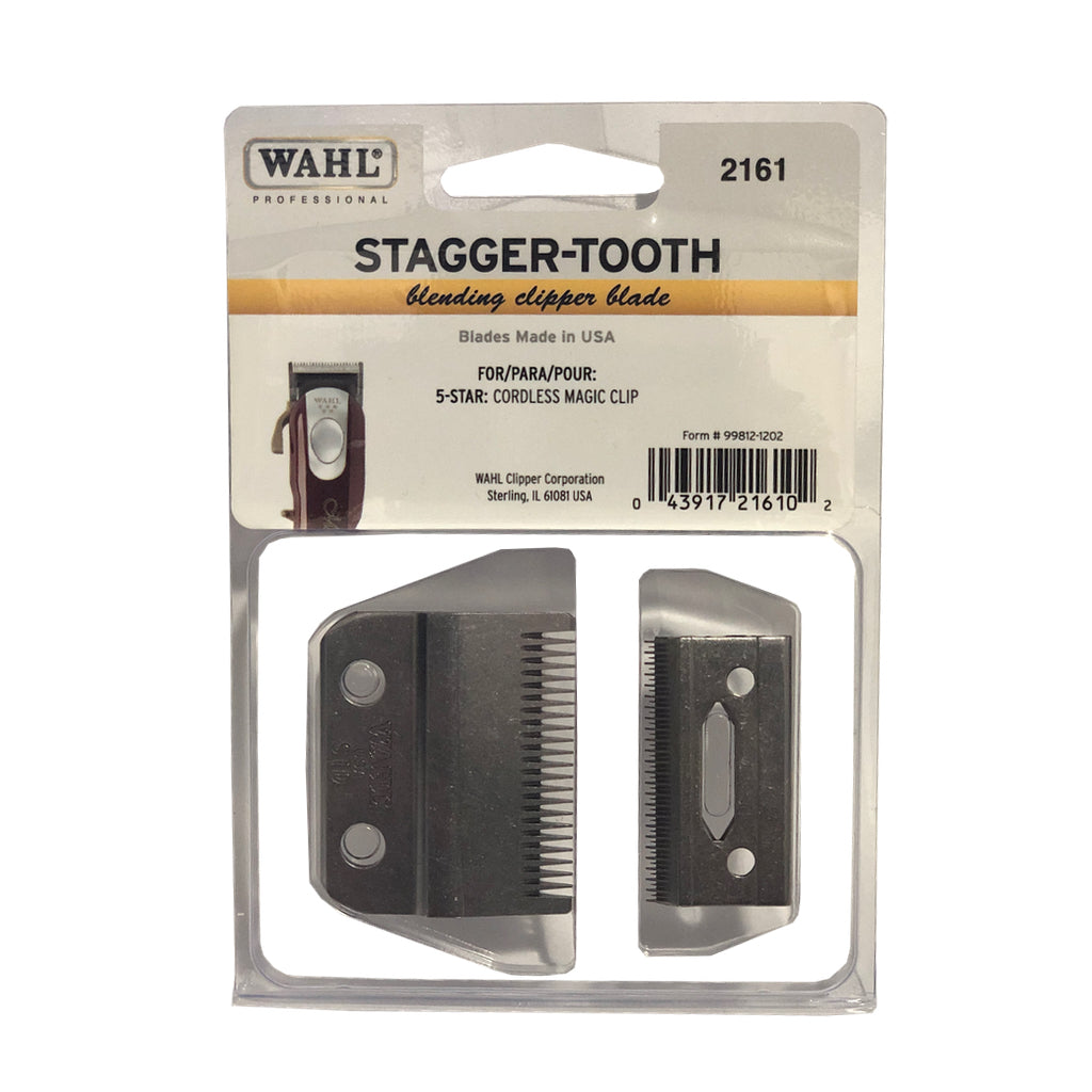 Stagger Tooth Blade Set (C/C Magic Clip Only) - 2161 - BUYBARBER.COM