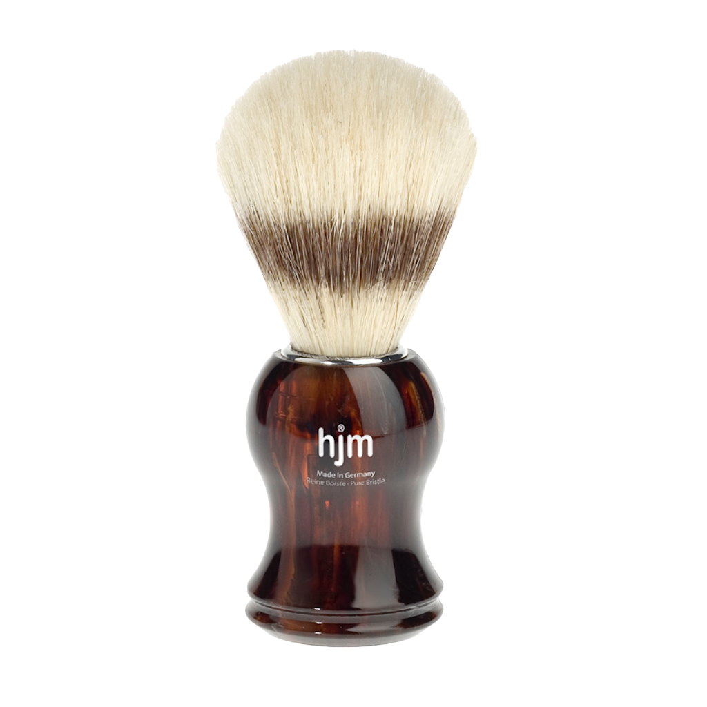 Sandalwood Shaving Cream Bowl 150g + Shaving Brush - BUYBARBER.COM