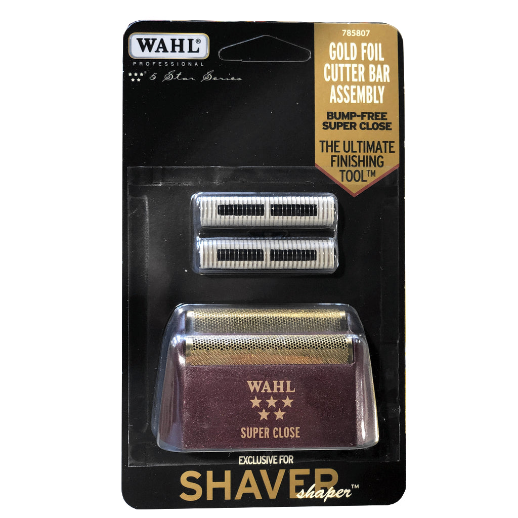 Shaver/Sharper Replacement Foil & Cutter Bar Assembly - Gold