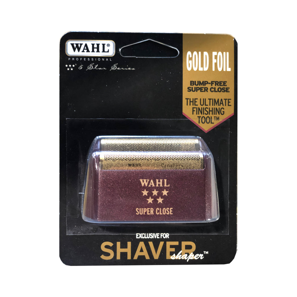 Shaver/Sharper Super Close Replacement Foil - Gold