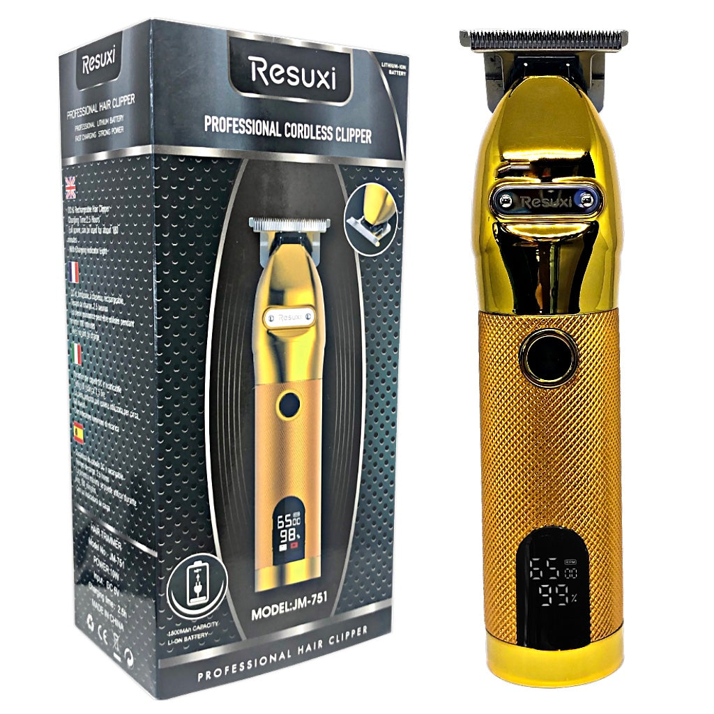 Professional Cordless Trimmer - Gold - BUYBARBER.COM