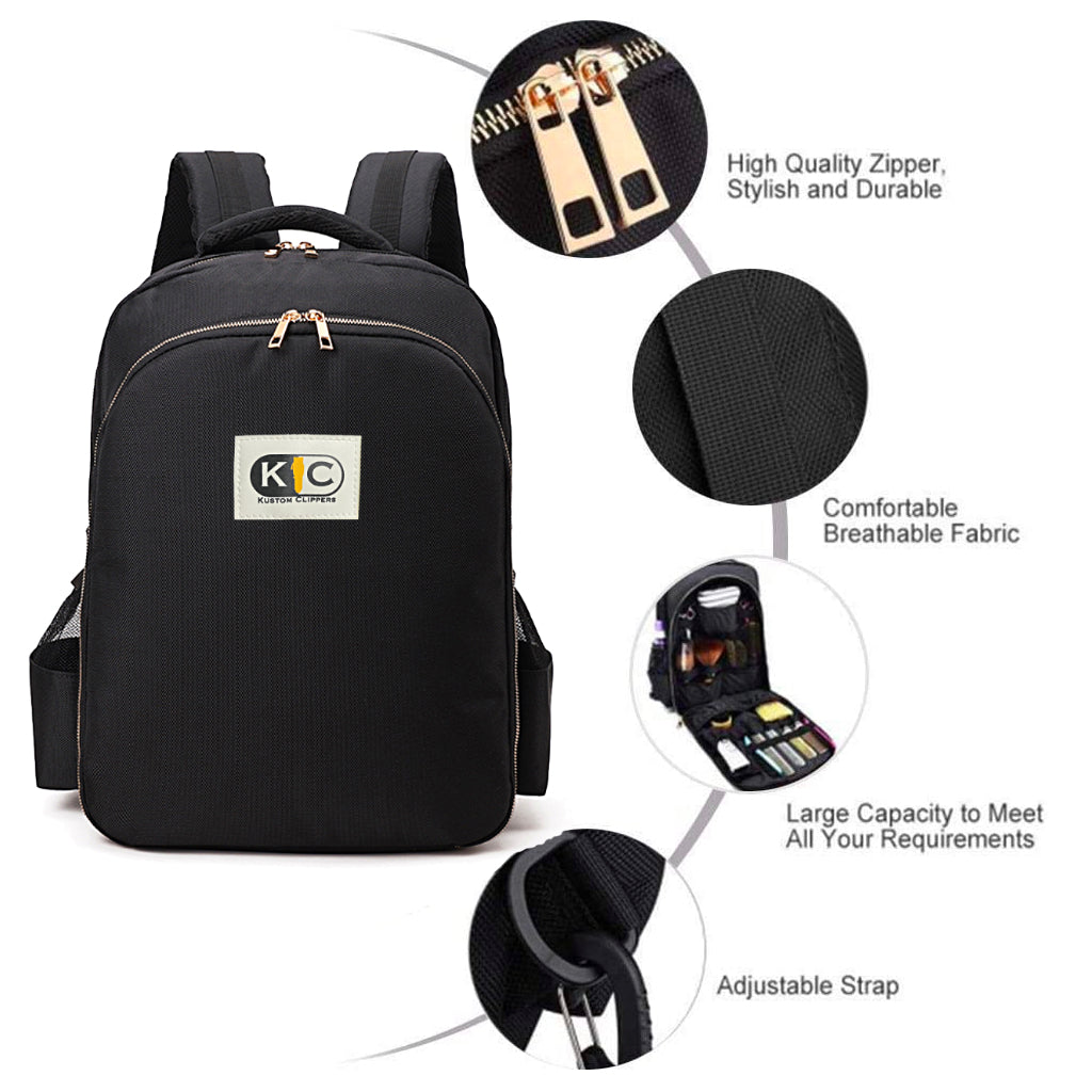 The Original Kustom Clippers Barber Backpack - BUYBARBER.COM