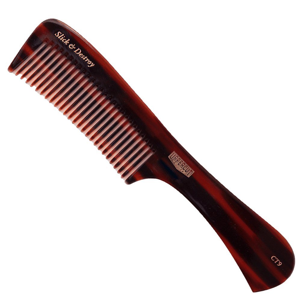 CT9 Tortoise Shell Styling Comb - BUYBARBER.COM