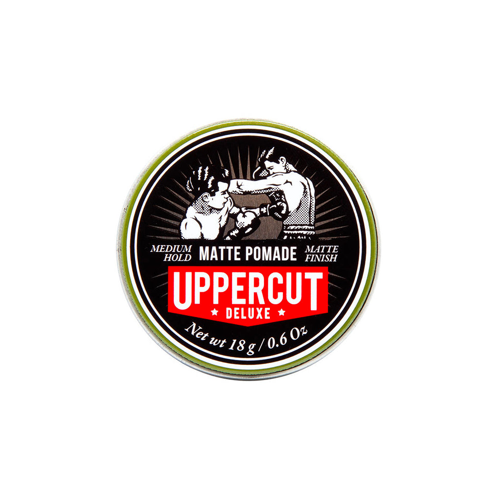 Uppercut Matte Pomade Mini Tin .6oz/18g - BUYBARBER.COM