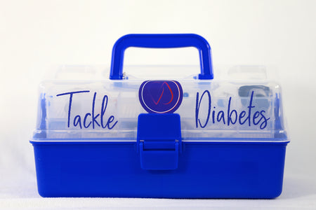 Diabetes Box, designed to hold all T1D tools - ThisDiabetic.com