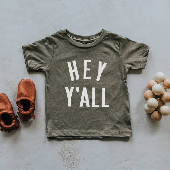 Hey Ya'll Shirt | The Oyster's Pearl