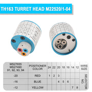 TH163 turret head m22520/1-04