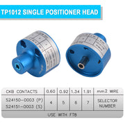 TP1012 single positioner head
