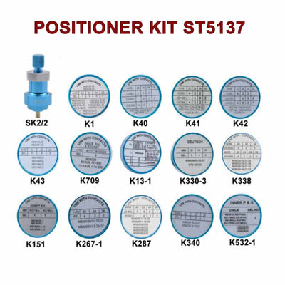 ST5137 Positioner Kit: K Series & SK2/2 Positioner for AFM8 Hand Crimping Tool
