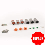 10pack 4Pin DT connector kit(A set of three pairs)