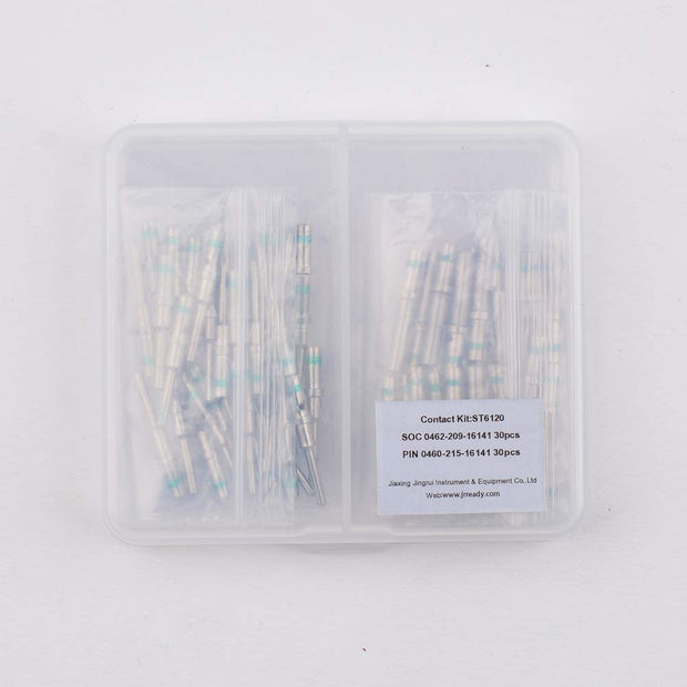 Terminal ST6120 Kit :16#Male 0460-215-16141/Female 0462-209-16141 Contacts Wire 14(30 pair)