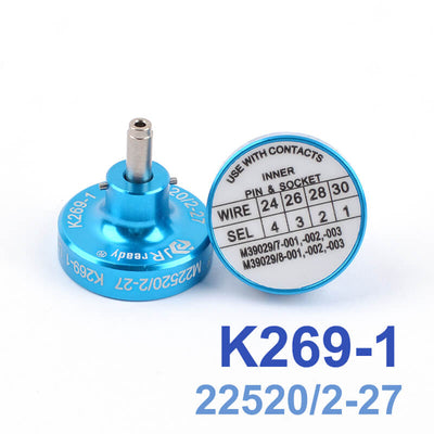 K269-1(M22520/2-27) Positioner Crimp for Pin Terminal Contacts Crimper afm8 YJQ-W1A