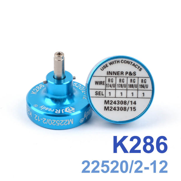 K286 M22520/2-12 Positioner is suitable for M24308/14,M24308/15 contacts,adapted to YJQ-W1A and YJQ-W1Q