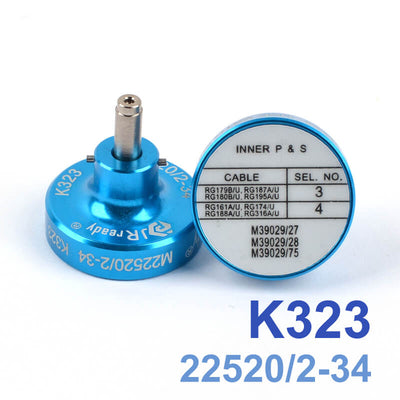 K323 (M22520/2-34) Positioner Crimp for Pin Terminal Contacts Crimper YJQ-W1A