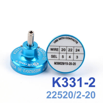 K331-2 M22520/2-20 Positioner for AFM8 Wire Crimper,suitable for terminal contact M39029/15-20-20