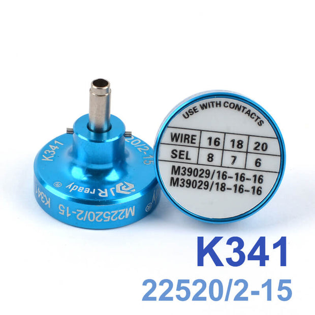 K341(M22520/2-15) Positioner,Suitable for terminal M39029/18-179 and Crimp Tools YJQ-W1A
