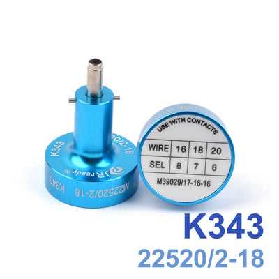 K343(M22520/2-18) Positioner for YJQ-W1A YJQ-W1Q Wire Crimper
