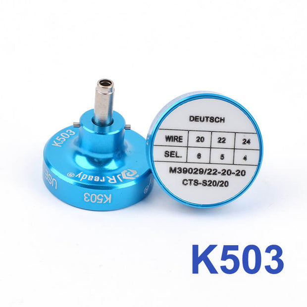 K503 Crimper Positioner Head for YJQ-W1A Crimping Pliers for M39029/22-20-20,CTS-S20/20