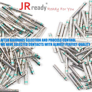 Terminal Kit Contact Size 16, 8 Pair Male 0460-215-16141/Female 0462-209-16141 Solid Contacts Wire Gauge 14 by JRready