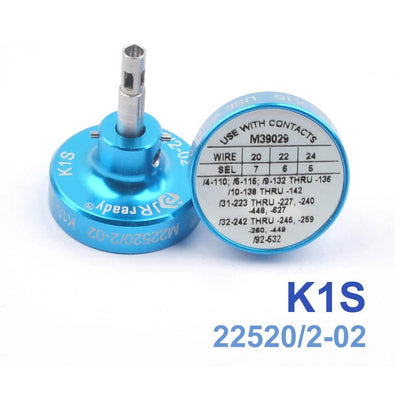 K1S Positioner M22520/2-02 used with MIL-standard 20# contacts and Suitable for YJQ-W1A(AFM8)