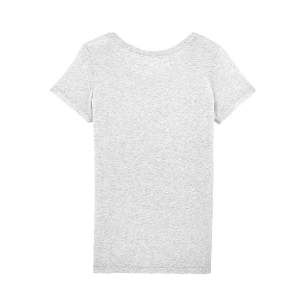 &organics | Bio Mode Damen T-Shirt ESSENTIALS - Grau - Faire Mode Online - Bio Essentials