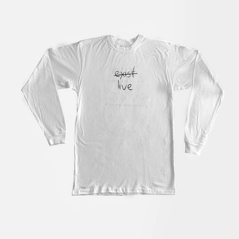 EXIST LIVE LONGSLEEVE - Mindful Society ⚡︎