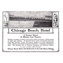 1913 Chicago Beach Hotel