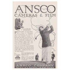 1915 Ansco Cameras & Film
