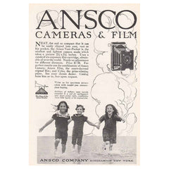 1915 Ansco Cameras and Film