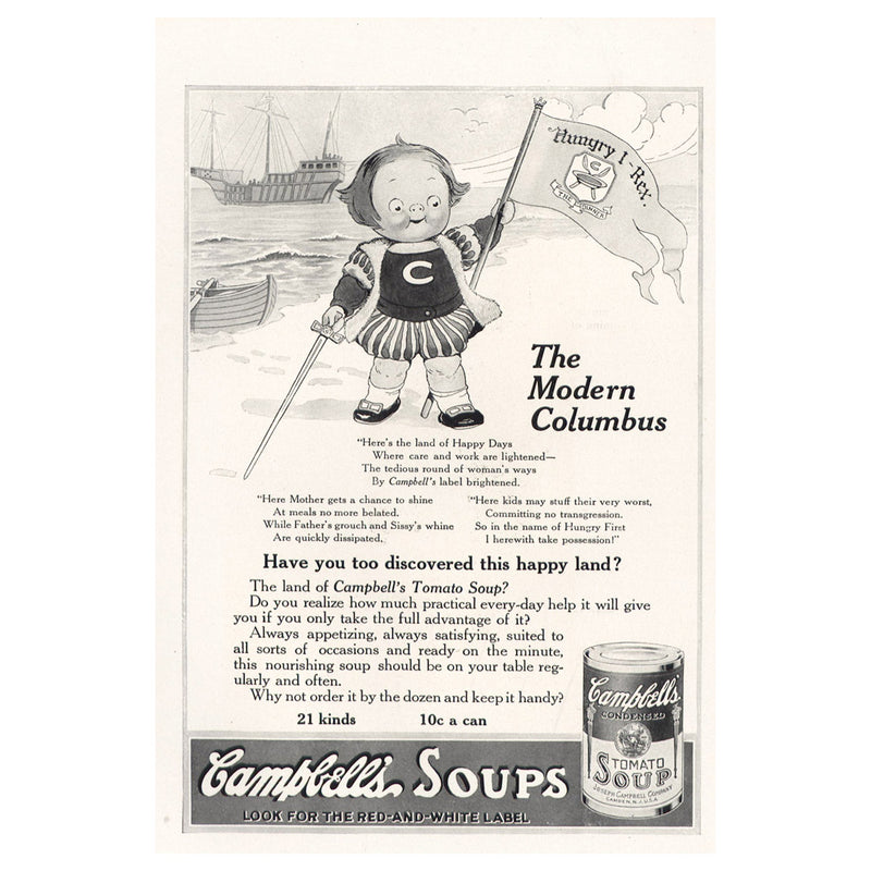 1915 Campbell Soup
