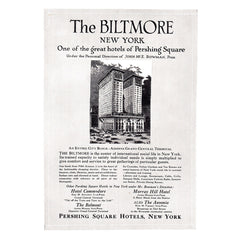 1920 Biltmore New York Hotel
