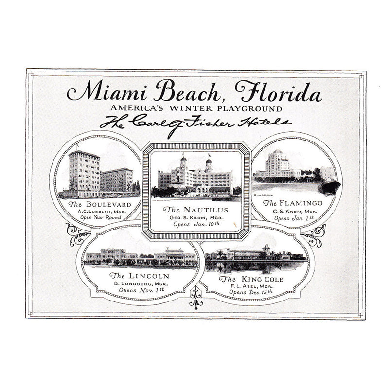 1926 Miami Beach, Florida