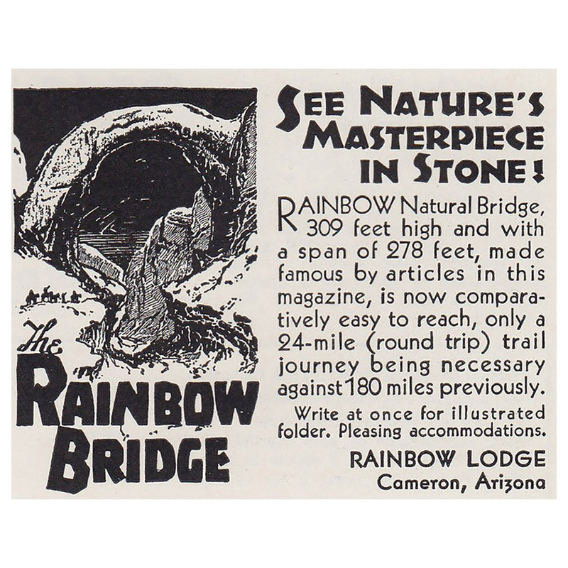 1930 Rainbow Lodge, Arizona