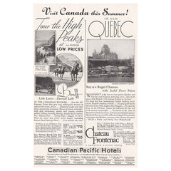 1934 Canadian Pacific Hotels