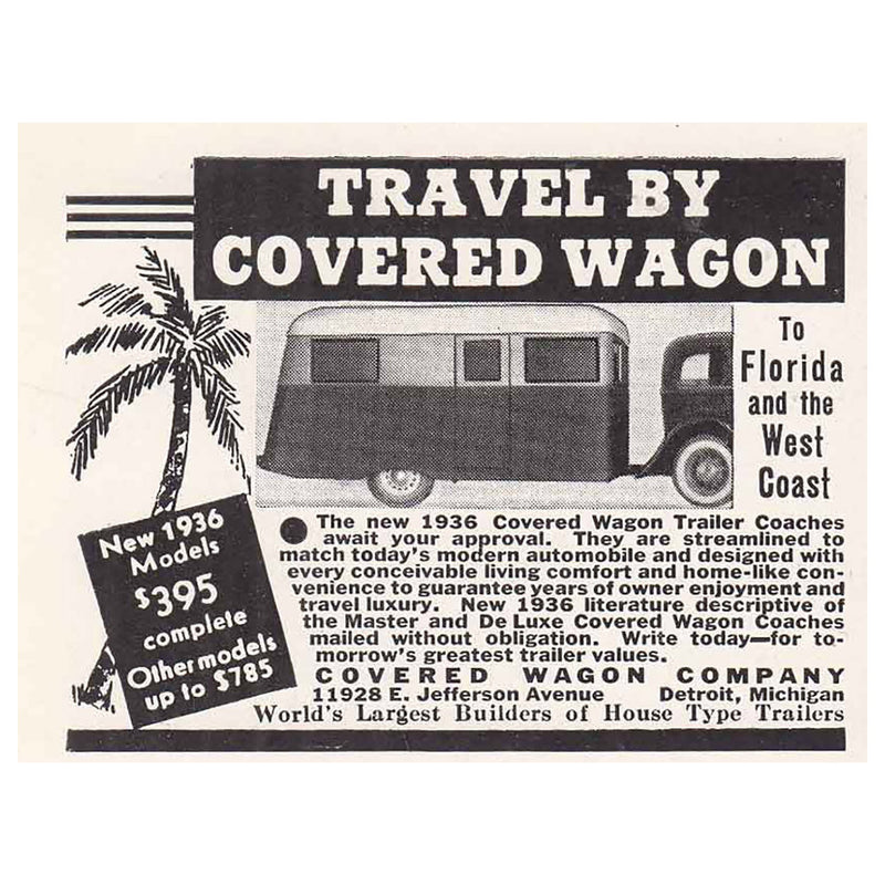 1935 Covered Wagon