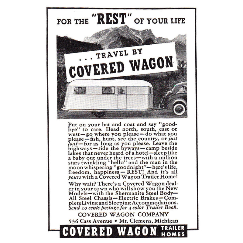 1937 Covered Wagon